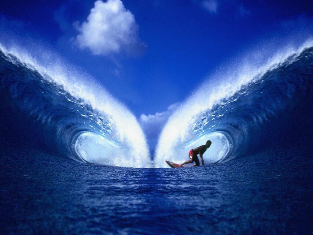Surfer teilgespiegelt 1024x768